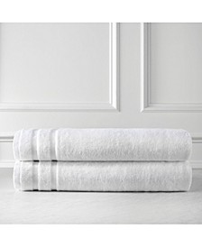 Oversized Premium Cotton Bath Sheets Set of 2, Bath Sheet Set