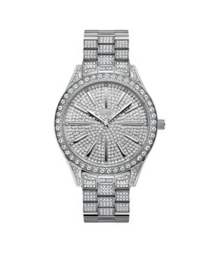 Women's Cristal Diamond (1/8 ct.t.w.) Stainless Steel Watch