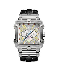Men's Phantom Diamond (1 ct.t.w.) Stainless Steel Watch