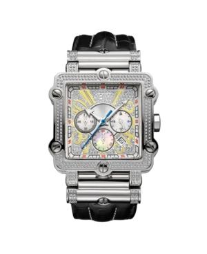 Jbw Men's Phantom Diamond (1 ct.t.w.) Stainless Steel Watch