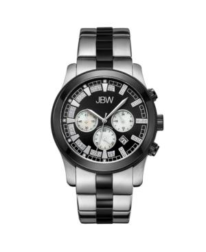 Jbw Men's Delano Diamond (1/5 ct.t.w.) Stainless Steel Watch