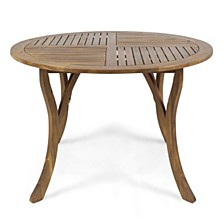 Hermosa Outdoor Round Dining Table