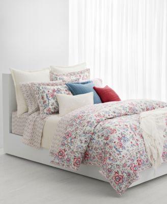 Lucie Floral Full/Queen Duvet Set