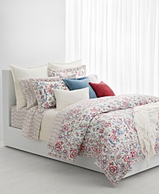 Lucie Floral Full/Queen Duvet Set