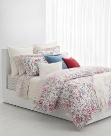 Lucie Floral Full/Queen Comforter Set