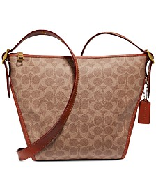 COACH Coated Canvas Signature Dufflette