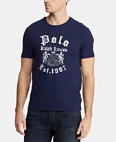 2652dc2a6cee Polo Ralph Lauren Men's Custom Slim Fit Graphic Cotton T-Shirt