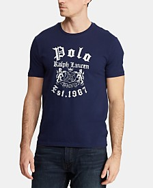 Polo Ralph Lauren Men's Custom Slim Fit Graphic Cotton T-Shirt