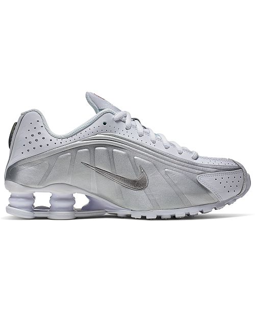 Nike Boys' Shox R4 Casual Sneakers from Finish Line