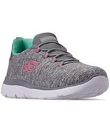 Women's Summits - Quick Getaway Wide Width Walking Sneakers from Finish Line