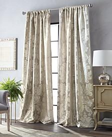 Martha Stewart Palermo Pole Top Curtain Panel Collection
