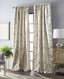 Martha Stewart Palermo Pole Top Curtain Panel Collection