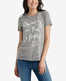 Lucky Brand Dancing In The Street Bowie Graphic T-Shirt