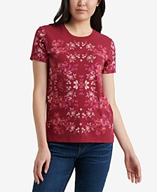 Cotton Floral-Print T-Shirt