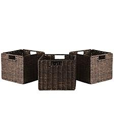 Granville Foldable 3-Pc Small Corn Husk Baskets