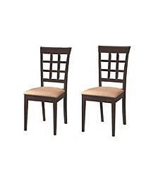 Claremont Wheat Back Side Chairs (Set of 2)