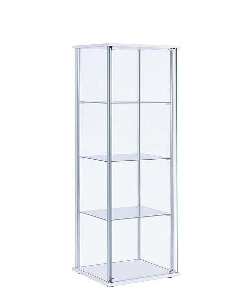 Coaster Home Furnishings Palmyra 4-Shelf Curio Cabinet