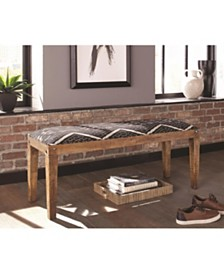 Temple Rectangular Upholstered Bench