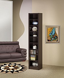 Clearwater Narrow 9-Shelf Bookcase