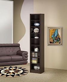 Clearwater Narrow 9-Shelf Bookcase