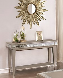 Whittier Mirrored Sofa Table