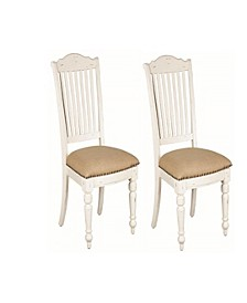 Harry Slat Back Side Chairs Vintage (Set of 2)