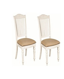 Harry Slat Back Side Chairs Vintage (Set of 2)