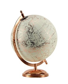 Brewster Home Fashions Rose Gold Tabletop Globe