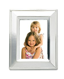 """Lawrence Frames Brushed Silver Plated Metal Picture Frame - 2"""" x 3"""""""