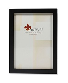 "Black Wood Picture Frame - Gallery Collection - 5"" x 7"""