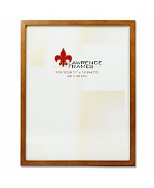 "Lawrence Frames 766011 Nutmeg Wood Picture Frame - 11"" x 14"""