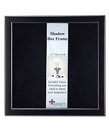 "Lawrence Frames 790012 Black Wood Shadow Box Picture Frame - 12"" x 12"""