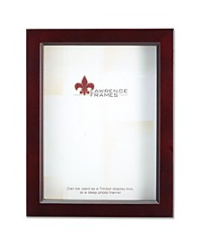 "795180 Espresso Wood Treasure Box Shadow Box Picture Frame - 8"" x 10"""
