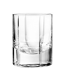 Qualia Glass Trend Double Old Fashioned Glasses, Set Of 4