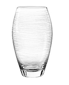 Qualia Glass Graffiti Highball Glasses, Set Of 4