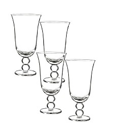 Qualia Glass Orbit Iced Tea Glasses, Set Of 4