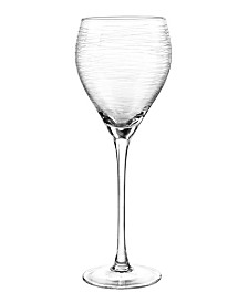 Qualia Glass Graffiti Wine Glasses, Set Of 4