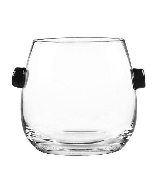Qualia Glass Ebony Ice Bucket
