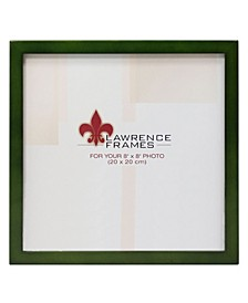 """Green Wood Picture Frame - Gallery Collection - 8"""" x 8"""""""