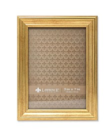 "Sutter Burnished Gold Picture Frame - 5"" x 7"""