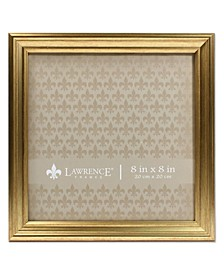 """Sutter Burnished Gold Picture Frame - 8"""" x 8"""""""