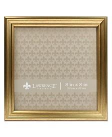 """Lawrence Frames Sutter Burnished Gold Picture Frame - 8"""" x 8"""""""