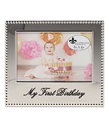 "Lawrence Frames My First Birthday Picture Frame - 4"" x 6"""