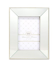 "Lawrence Frames Ashton Mirror Picture Frame - 4"" x 6"""