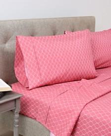 Home Dynamix Andover Hills 4-Piece Soft Microfiber Queen Sheet Set