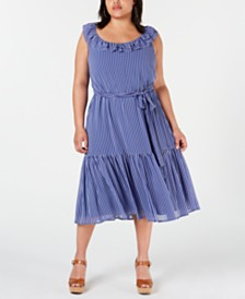 MICHAEL Michael Kors Plus Size Maxi Dress