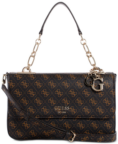 GUESS Logo Rock Top Handle Crossbody