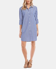 Karen Kane Striped Shirtdress