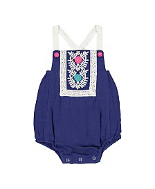 Masala Baby Girls Beach One Piece Royal
