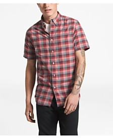 The North Face Men's Monanock Regular-Fit FlashDry™ Plaid Shirt
